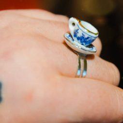 Δαχτυλίδι κουπα του τσαγιου