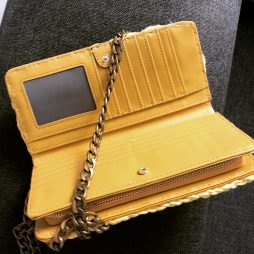 Χειροποίητο πορτοφόλι/τσαντάκι