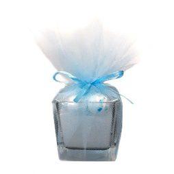Μπομπονιέρα κερί σε ποτήρι